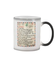 To My Son - Mom Color Changing Mug thumbnail