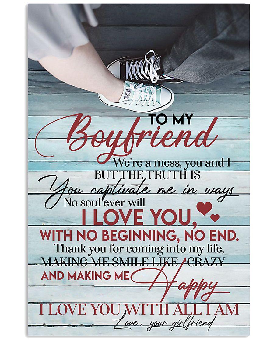 To My Boy Friend 11x17 Poster