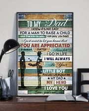 To My Dad- son 11x17 Poster lifestyle-poster-2