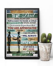 To My Dad- son 11x17 Poster lifestyle-poster-8