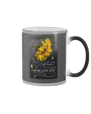To day is a good day Color Changing Mug tile