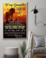 To My Daughter - Dad 11x17 Poster lifestyle-poster-1