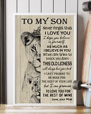 To My Son - Mom 11x17 Poster lifestyle-poster-4