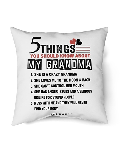 5 THINGS  - MY GRANDMA