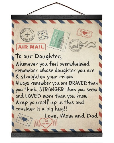 To My Daughter - Mom and Dad
