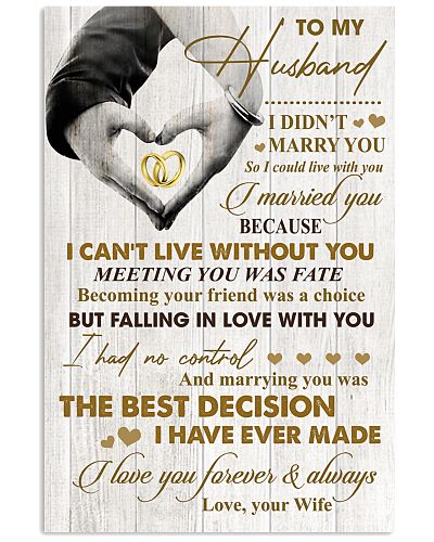 To My Husband - WIfe