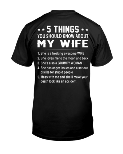 5 Things My Wife