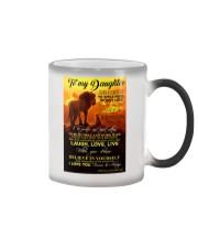 To My Daughter - Dad Color Changing Mug thumbnail