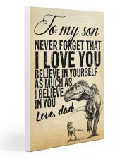 To my son-Dad 20x30 Gallery Wrapped Canvas Prints thumbnail
