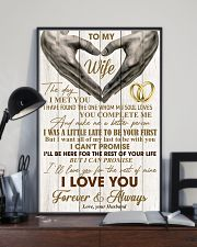 To My Wife - Husband 11x17 Poster lifestyle-poster-2