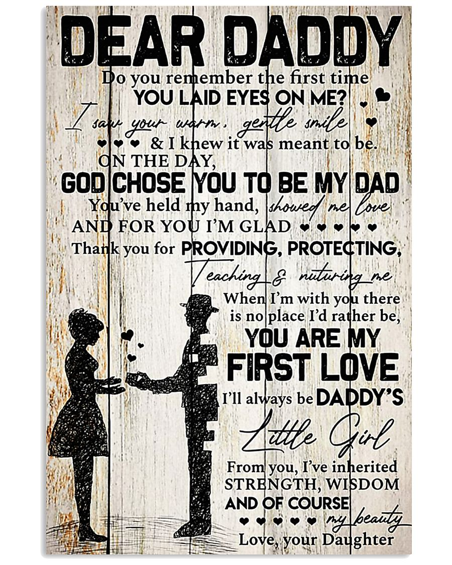 DEAR DADDY - DAUGHTER 11x17 Poster