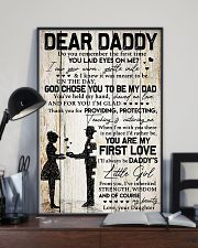 DEAR DADDY - DAUGHTER 11x17 Poster lifestyle-poster-2