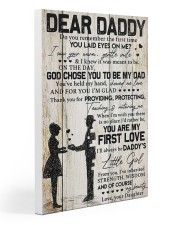 DEAR DADDY - DAUGHTER Gallery Wrapped Canvas Prints tile