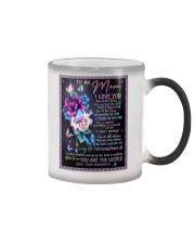 To My Mom - Daughter Color Changing Mug thumbnail