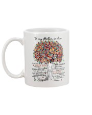 To My Mother In Law Mug Mother's Day Best Gift HOT Mug back