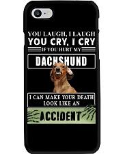 If You Hurt My Dachshund  Phone Case thumbnail