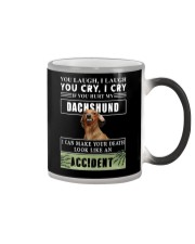 If You Hurt My Dachshund  Color Changing Mug thumbnail