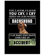 If You Hurt My Dachshund  11x17 Poster thumbnail