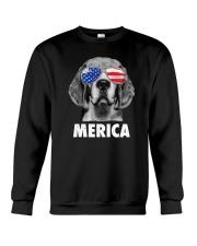 Beagle 4th of July Crewneck Sweatshirt thumbnail