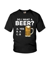 Do I Want A Beer Youth T-Shirt thumbnail