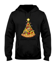 Pizza Christmas Tree Hooded Sweatshirt thumbnail