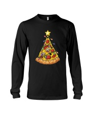 Pizza Christmas Tree Long Sleeve Tee thumbnail