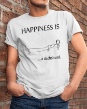 Happiness is a Dachshund Classic T-Shirt apparel-classic-tshirt-lifestyle-26