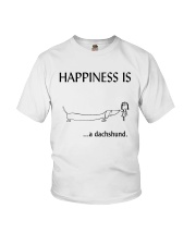 Happiness is a Dachshund Youth T-Shirt thumbnail