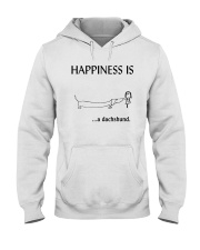 Happiness is a Dachshund Hooded Sweatshirt thumbnail