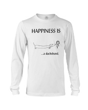 Happiness is a Dachshund Long Sleeve Tee thumbnail