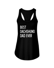 Best Dachshund Dad Ever Ladies Flowy Tank thumbnail