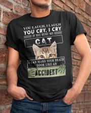 Don't Hurt My Cat Classic T-Shirt apparel-classic-tshirt-lifestyle-26