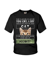 Don't Hurt My Cat Youth T-Shirt thumbnail