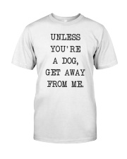 Dog Lover Classic T-Shirt front