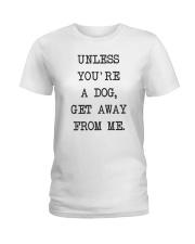 Dog Lover Ladies T-Shirt thumbnail