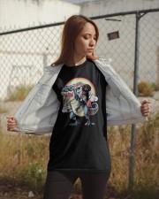 Dachshund Unicorn T rex Classic T-Shirt apparel-classic-tshirt-lifestyle-07