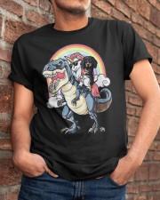 Dachshund Unicorn T rex Classic T-Shirt apparel-classic-tshirt-lifestyle-26