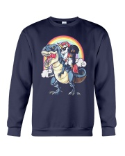 Dachshund Unicorn T rex Crewneck Sweatshirt thumbnail