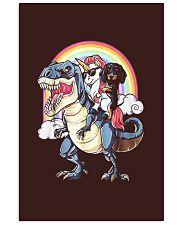 Dachshund Unicorn T rex 11x17 Poster thumbnail