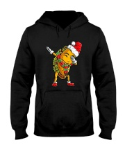 Dabbing Santa Taco Christmas Hooded Sweatshirt tile
