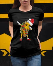 Dabbing Santa Taco Christmas Ladies T-Shirt apparel-ladies-t-shirt-lifestyle-04