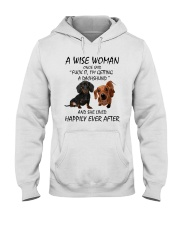 A Wise Woman and Dachshund Hooded Sweatshirt thumbnail