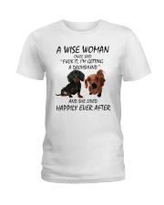 A Wise Woman and Dachshund Ladies T-Shirt thumbnail