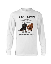A Wise Woman and Dachshund Long Sleeve Tee thumbnail