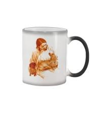God and Dachshund Color Changing Mug thumbnail