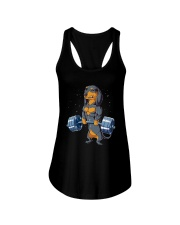 Dachshund Weightlifting Ladies Flowy Tank thumbnail