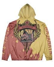 ANJANATH - SUBLIMATION Men's All Over Print Hoodie back