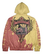 ANJANATH - SUBLIMATION Men's All Over Print Full Zip Hoodie tile
