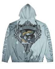 BEOTODUS - SUBLIMATION Men's All Over Print Hoodie back