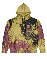 CORAL PUKEI-PUKEI - ELITE SUBLIMATION-V2 Men's All Over Print Hoodie front